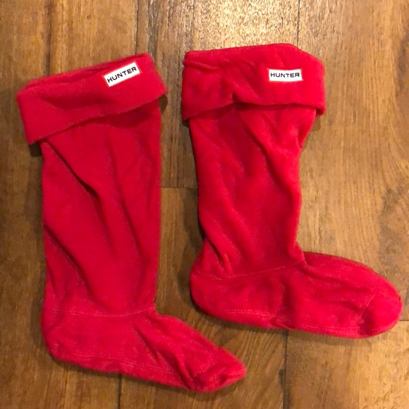 NEW IN BOX HUNTER Pleated Ribbed Original Tall Boot Welly Socks Large 8 9 10